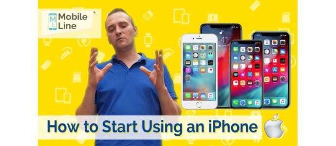 How to Start Using an iPhone.