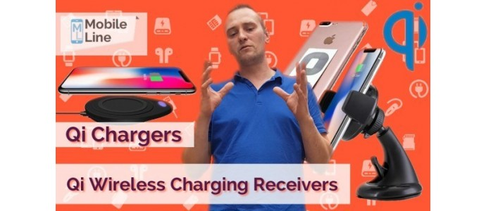 Best Qi PAD, STANDS, CAR MOUNTS, RECEIVERS Wireless Chargers presentation from www.mobileline.co.uk